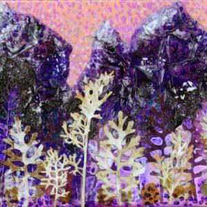 Purple Peaks 1st View