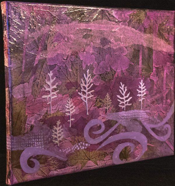 Lavender Swirl 3rd view